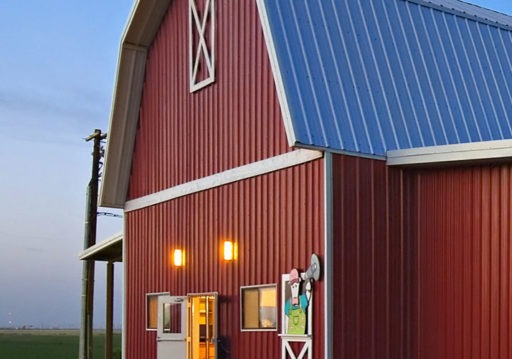 Custom metal building barn | Bunger Steel