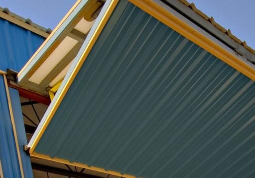 custom metal building wall | Bunger Steel