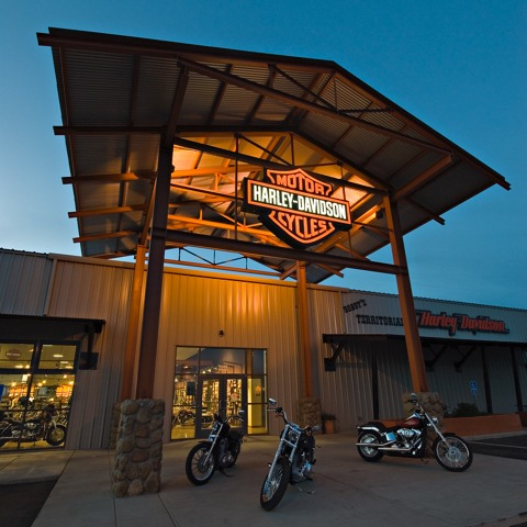 Bobby's Territorial Harley Davidson | Bunger Steel