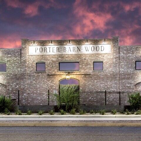 porter barn wood custom metal building | Bunger Steel
