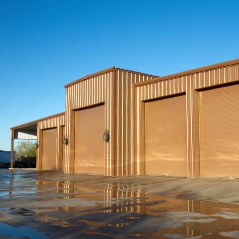 custom metal garages metal building | Bunger Steel