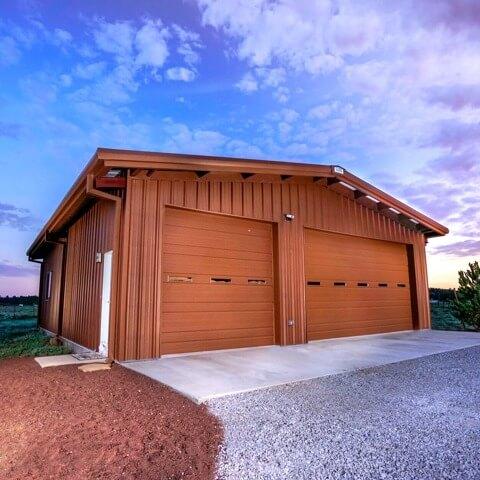 custom steel garage | Bunger Steel