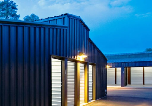 Custom metal storage building | Bunger Steel