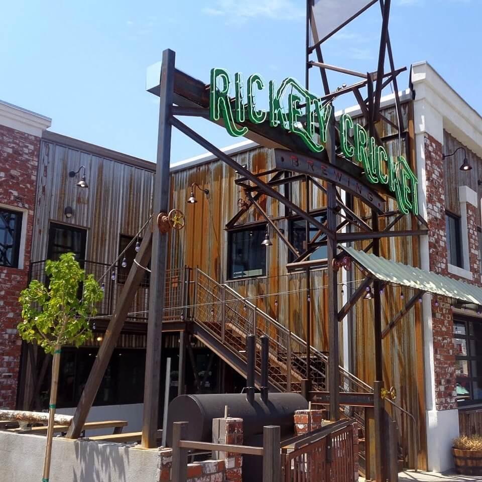 Rickety Cricket Brewing custom metal building | Bunger Steel