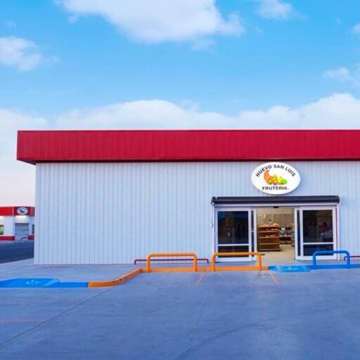 Fruiteria Nuevo San Luis custom metal building | Bunger Steel