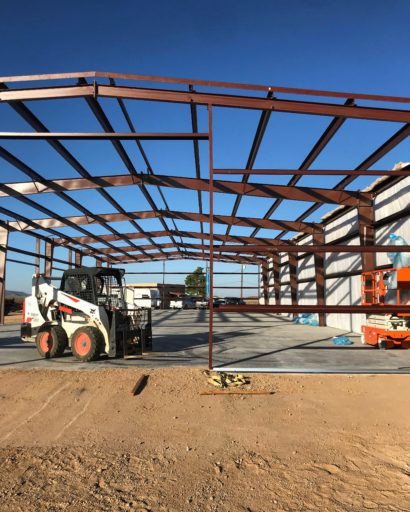 Metal building frame | Bunger Steel